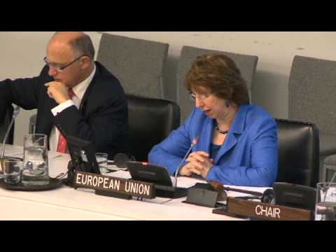 Catherine ASHTON attends