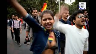 LGBTQ PRIDE PARADE 2018 | INDIA | Thousands March on Delhi Roads | India Pride March