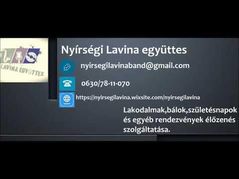 Nyírségi Lavina együttes - Részegen ki visz haza
