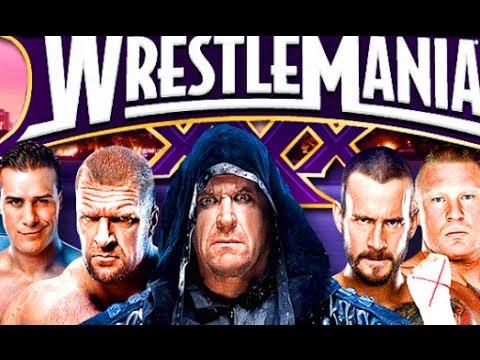 You Choose My Next Promo of Wrestlemania 30 HD