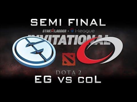 EG vs coL Semi Final Starladder 2017 Minor NA Highlights Dota 2