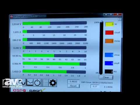 InfoComm 2015: SurgeX Highlights the enVision Diagnostic Tool
