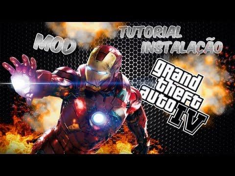 Tutorial Instalação - Iron Man IV MOD [GTA IV]