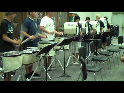 Central High School Drumline 2010 (Florence, AL)