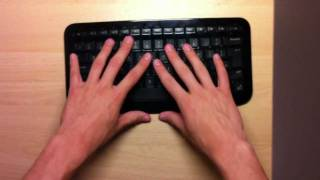 Microsoft Arc Wireless Keyboard - Unboxing/Review HD