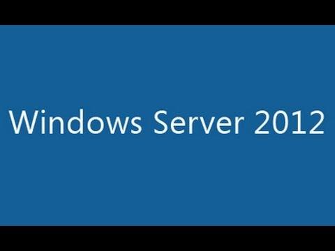 Windows Server 2012 Step-by-Step Installation
