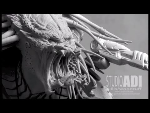 AvP:R, Wolf Predator Maquette Collectible- Part 1