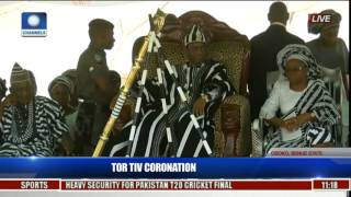 Coronation Ceremony Of New Tor Tiv In Gboko,Benue State Pt 6