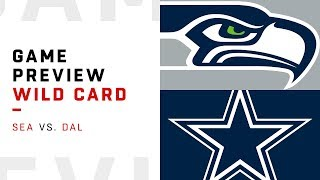 Seattle Seahawks vs. Dallas Cowboys | Wild Card Weekend Game Preview | Move the Sticks