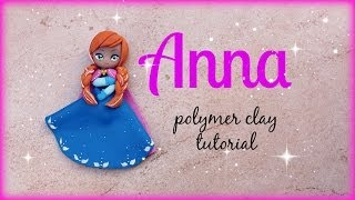 ❅ Anna - Frozen Polymer clay Tutorial ☃ ❅