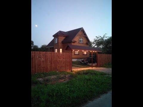 Отделка (обшивка)  брусового дома имитацией бруса