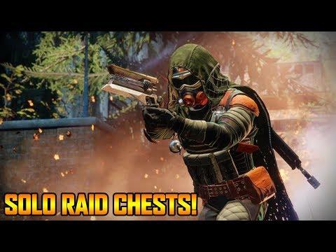 DESTINY 2 SOLO RAID CHESTS w/ RAID KEYS! (Destiny 2 Raid Chest)