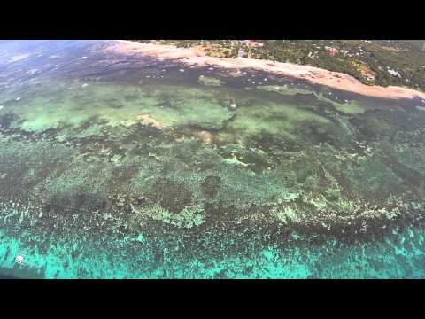 DJI Phantom2 flight offshore of Panglao Island, Bohol Philippines
