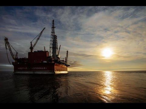 Первая Арктическая: документальный фильм о платформе Приразломная («Россия24», 22.12.2014)