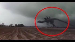 Top 10 Mysterious Giant Monster Creatures Caught on Tape - Unbelievable Frightening Creatures