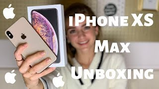 IPHONE XS MAX UNBOXING | R O S A L I E
