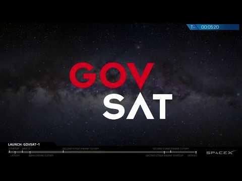 GovSat-1 Launch