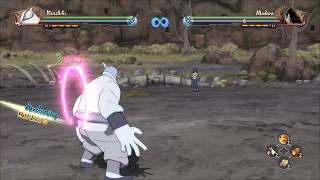 Kinshiki Ōtsutsuki NSUNS4 moveset (secret character)