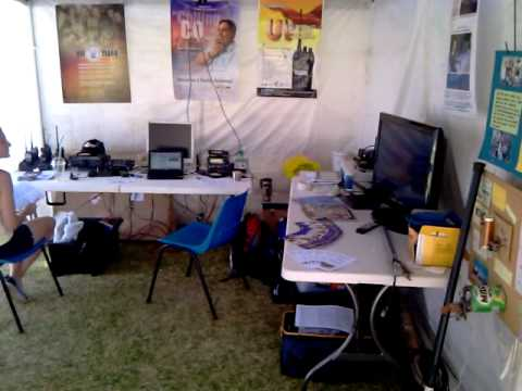VK100WIA - Super Springtime - Perth Royal Show - Scouts & HAM Radio Display.