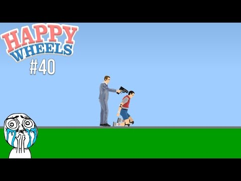 Happy Wheels Part 40 - SO TIRED