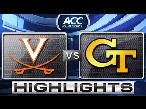 Virginia vs Georgia Tech Highlights - ACC Baseball Championship