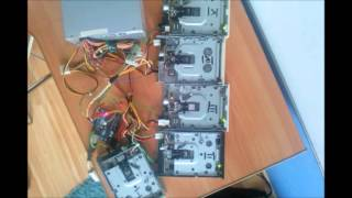 Papers Please Theme on floppy drives