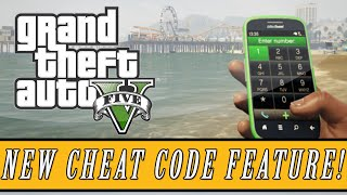 GTA 5: Secrets | Hidden Cheat Code Feature For Xbox One & PS4 Versions! (Cell Phone Cheat Codes)