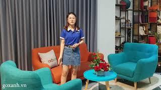 Bộ Ghế Sofa Mini Giá Rẻ Cho Phòng Khách Chung Cư