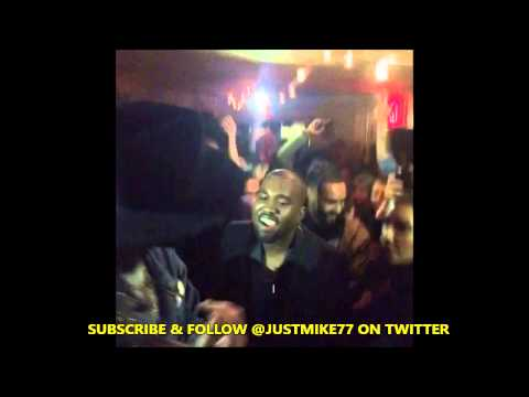 Whats Wrong With Kim Kardashian ?? (Kanye West Kim K At Theophilus London Party )