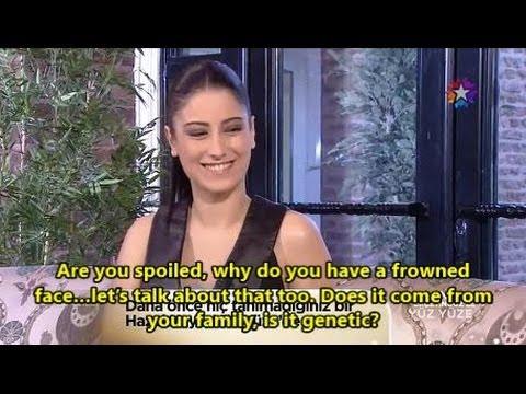 Hazal Kaya Yuz Yuze English Subtitles video