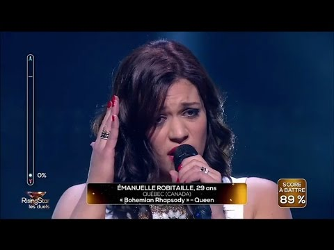 Watch Emanuelle Robitaille - Bohemian Rhapsody #RisingStar