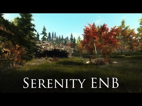TES V - Skyrim Mods: Serenity ENB