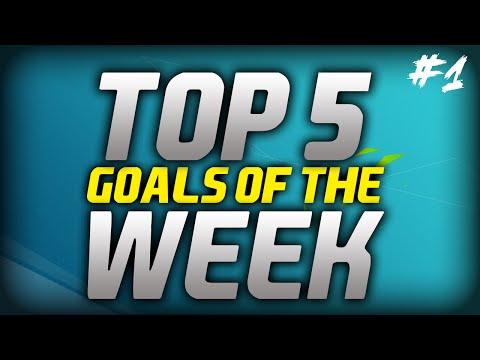 TOP 5 GOALS OF THE WEEK #1 - FIFA 16 SERIES!