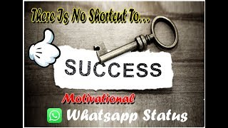 Hard Work  Success whatsapp Status