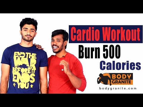 Cardio Workout - Burn 500 Calories in 11 minutes - Cardio routine at Home