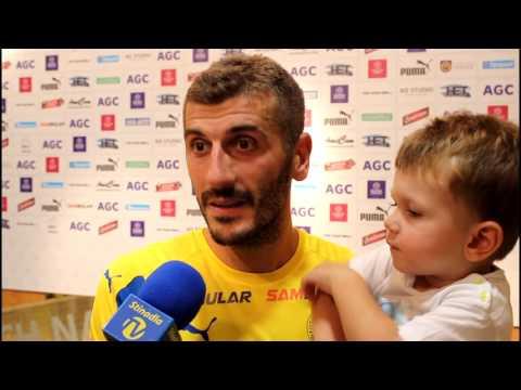 Rozhovory po zápase s Duklou (5.8.2017)