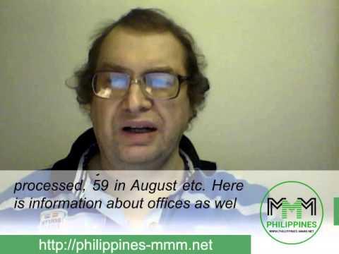 Weekly news from Sergey Mavrodi 05.08.2015 | МMM Philippines