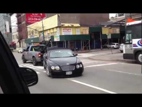 Как не надо транспортировать Bentley