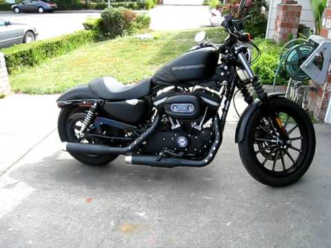 Harley Davidson Sportster Iron 883 Rinehart Video