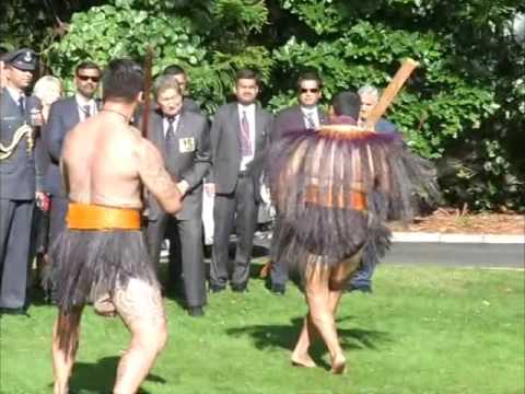Indian president accorded ceremonial welcome in New Zealand