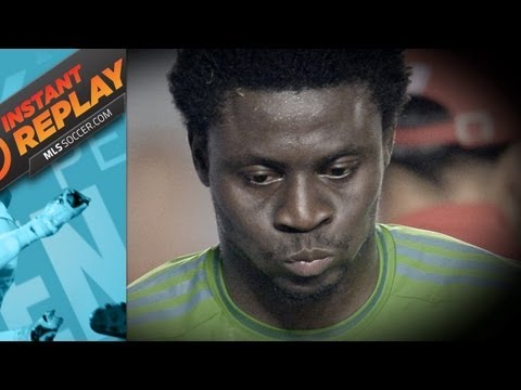 Instant Replay: Why Obafemi Martins deserved his red card