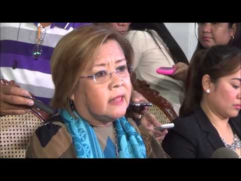 Napoles spills the beans on Enrile, Estrada, Revilla -- De Lima