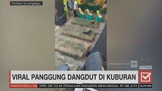 Viral Panggung Dangdut di Kuburan