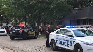Shooting reported in Muskegon Heights