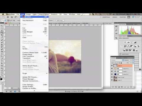 Easy Tumblr Photo Tutorial HD 1080p( Photoshop )