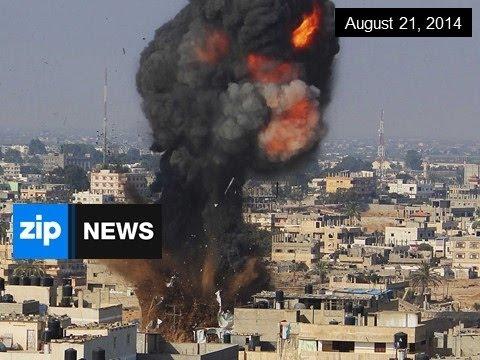 Gaza Truce Broken - August 21, 2014