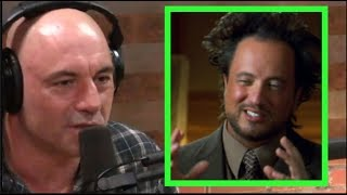 Joe Rogan on Ancient Aliens