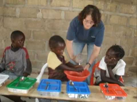 Kalulushi Children's Feeding Center in Zambia, Africa