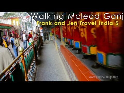 Walking The Main Street Of Mcleodganj, Dharamshala - Frank & Jen Travel India 4