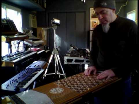 Jordan Rudess test-drives the Harpejji K24
